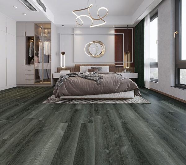 Midnight Moon Aruba flooring in a bedroom